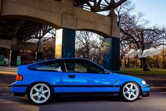 ELECTRIC BLUE CRX Jdm, Honda Crx, First Car, Car Detailing, Electric Blue, Slammed, Cars Motorcycles, Cool Cars, Dream Cars