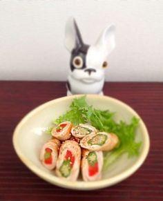 maki aux légumes et à la viande #japon #cuisine #cuisinejaponaise #maki