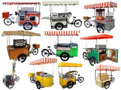 Italian Cargo Bike and Work Tricycle for Eco Friendly Transport in the City. We produce also Street Food Carts and Ice Cream Bike Carts on Tricycle Café Mobile, Mobile Shop, Starting A Food Truck, Salad Packaging, Food Cart Design, Mobile Food Cart, Cafe Display, Bike Food, Hot Dog Cart