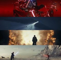 Gods, the cinematography in The Last Jedi was GORGEOUS!