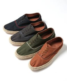 R.NEWBOLD(アール・ニューボールド)のCOTTON LACE UP SHOES/ESPADRILLE STYLE/135901/∥/⊥○(その他シューズ)|詳細画像