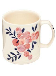 cute floral print mug