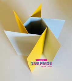 Fun Fold Cards, Folded Cards, Hexagon Shape, Pinwheels, Craft Tutorials, Card Templates, Cardmaking, Card Ideas, Greeting Cards