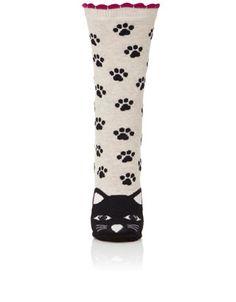 Mr Lucky Cat Face Socks