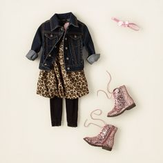 baby and toddler girl - outfits - fancy feline - catty and cute | Children's Clothing | Kids Clothes | The Children's Place