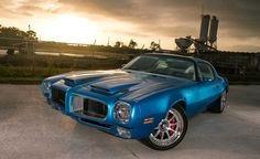 Custom 1972 Pontiac Firebird Trans-Am Ram-Air