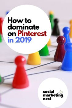 Need more traffic for your blog or online business?Here you can read tips on how to dominate on Pinterest in 2019 and grow your business. Pinterest is a really interesting mix of social network and search engine. It also grows very fast for the last few years! Pinterest is the best tool to use for marketing online. If you pick any social media network to focus all of your marketing on it needs to be Pinterest. #PinterestMarketing #PinterestTips #PinterestStrategies #PinterestHelp… Pinterest Advertising, Pinterest Marketing, Social Marketing, Online Marketing, Marketing Strategies, Top Blogs, Pinterest For Business, Starting Your Own Business