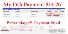 Adclickxpress (ACX) is Paying My 15 th Payment during 2015 $ 14.26 (Paid with in 24 hours)