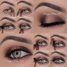 .@maya_mia_y | Pictorial  1.Apply Handwritten @MACcosmetics on the inner third of the lid 2....