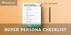 Understanding your target group is the key to success! Check out this free buyer persona checklist and get some inspiration! Understanding Yourself, Persona, Bar Chart, Target, Success, Key, Templates, Group, Check