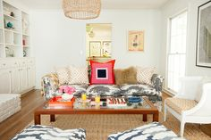 before-and-after: the ultimate family room makeover on domino.com
