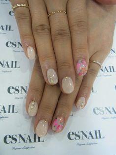 I like the shape Es Nails, Love Nails, Pretty Nails, Hair And Nails, Mani Pedi, Manicure, Nail Mania, Beauty Bar, Beauty Tips