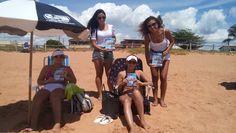 Panfletagem na Praia em Jacaraípe.