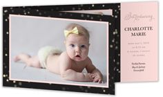Girl Birth Announcements & Baby Birth Announcement Cards | Shutterfly   Emma