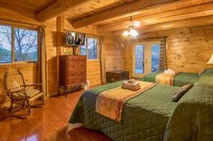 Pigeon Forge cabin rental in the Smoky Mountains. Pigeon Forge Cabin Rentals, Smoky Mountains Cabins, Bed, Wedding, Furniture, Home Decor, Valentines Day Weddings, Decoration Home, Stream Bed