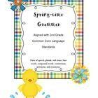TpT Weekly Freebie: FREE Grammar Resource fromMartha Sosa  2nd Grade Common Core Grammar and Language FREEBIE