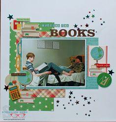 "Echo Park Teacher's Pet ""Hitting the Books"" by Barb Clayton More"