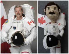 Col.Chris Hadfield .I didn't do this,found it on Col.Chris Hadfields' Facebook page.