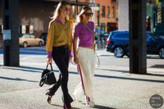 STYLE DU MONDE / New York SS 2017 Street Style: Annabel Rosendahl and Celine Aagaard  // #Fashion, #FashionBlog, #FashionBlogger, #Ootd, #OutfitOfTheDay, #StreetStyle, #Style