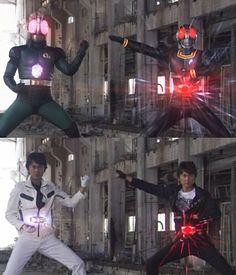 仮面ライダーBLACK&RX W南光太郎 加工待受の画像 プリ画像
