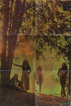 Black Sabbath Master of Reality album poster insert