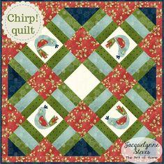 Chirp! Mini Quilt Pattern- Digital