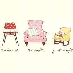 The Three Bears Chairs.