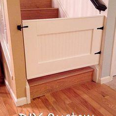 Easy DIY Baby Gate Photo