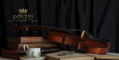 Antiques by GK - Logo Brand Identity, Branding, Violin, Music Instruments, Logo, Antiques, Musical Instruments, Logos, Antiquities
