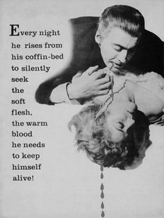Flamel or another, satirically quoting Horror of Dracula (1958)