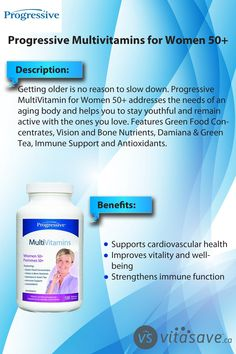 Progressive Multivitamins for Women supports cardiovascular health and improves vitality and well being. Good Multivitamin For Women, Best Multivitamin, Calcium Citrate, Milk Thistle Extract, Cranberry Fruit, Bone Loss, Pantothenic Acid, Cardiovascular Health