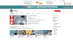 Mathrix : une chaine youtube pour aider les lycéens et les collégiens à réussir leurs examens (Bac, Brevet,...) Adolescents, Motivation, Education, Visual Aids, Recipes, Onderwijs, Learning, Inspiration
