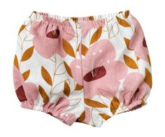 Pink Floral Bum Cover | Zebi Baby | for baby girl!