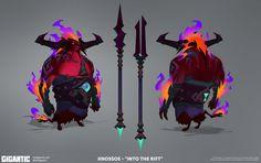 ArtStation - Gigantic Character Skins II, Vinod Rams