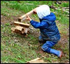 How to Create Outdoor Play Spaces for Children that Encourage Unstructured Play | My Nearest And Dearest