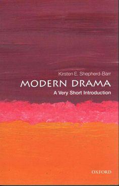 Modern Drama: A Very Short Introduction