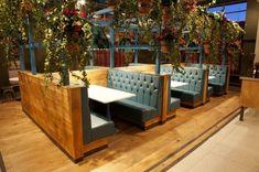 idées pour votre salon restaurant Warrington en Angleterre