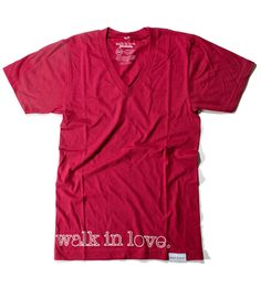 A new christian clothing company. Walk in love. so cutsie