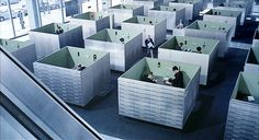 Cubicle office   Playtime by Jaques Tati