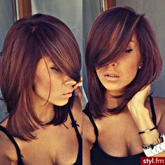 Gorgeous medium length haircut with layers