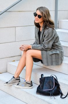 OUTFIT: GOLDEN GOOSE SNEAKERS