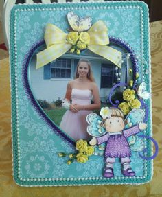 Altered frame for my daughters picture