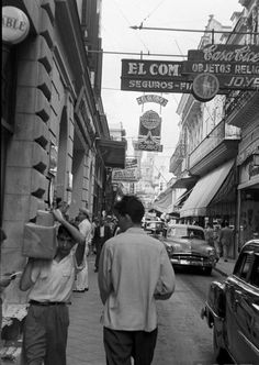 Black and White Havana Photos from1960s As anyone reading this could plainly see, I am in love with Havana. This is a city that has more character than