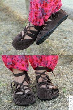 sandalies medievals / medieval sandals
