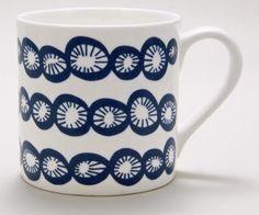 Porcelain mug by Lotta Jansdotter