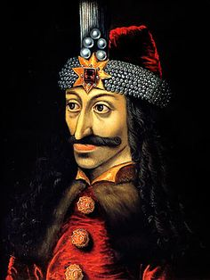 Vlad the Impaler (In Bram Stoker's Dracula.Dracula was thought to have been this historical figure prior to becoming a vampire) Vlad Der Pfähler, Vlad El Empalador, Zombies, Dracula Castle, Vampire Dracula, Vlad The Impaler, Real Vampires, Monsters, Bram Stoker's Dracula