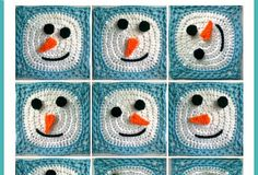 Crochet_Snowman_Granny_Squares_