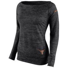 Texas Longhorns Nike Women's Warp Epic Sweatshirt – Black