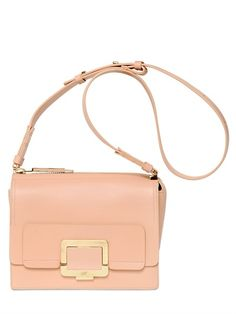 ROGER VIVIER - U MINI BOARDED LEATHER SHOULDER BAG - LUISAVIAROMA - LUXURY SHOPPING WORLDWIDE SHIPPING - FLORENCE