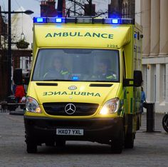 TIL that the word AMBULANCE is written backwards on the front of the vehicle because drivers in front will be able to read it easily in their rear view mirror Emergency Ambulance, Emergency Vehicles, Mirror Writing, Driving Instructor, Benz Sprinter, Emergency Lighting, Your Location, Lifeguard, Mirror Image